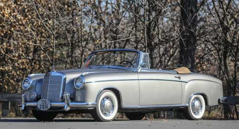 Lot-021-Gooding-Auctions-Scottsdale-2020-Mercedes-220-S-Cabriolet