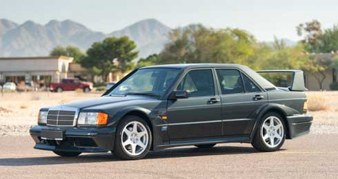 Lot-029-Gooding-Auctions-Scottsdale-2020-Mercedes-190E-2.3-16-Evo-II