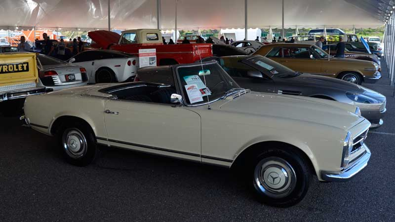 Lot #714.1 at Barrett-Jackson - 1966 230 SL, Sold for $52,800, decently strong money for a 230 SL.