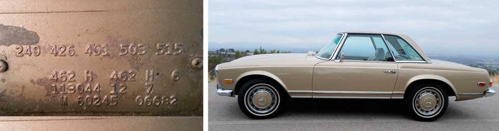 462-Tunis-Beige-Metallic-Mercedes-Paint-Color-1971-280SL