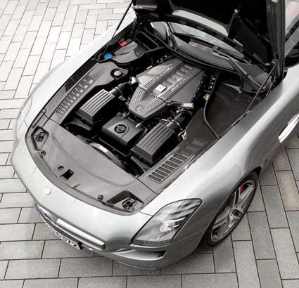 Mercedes-SLS-AMG-History-Mercedes-Market-Gullwing-AMG-V8-6.3-Engine