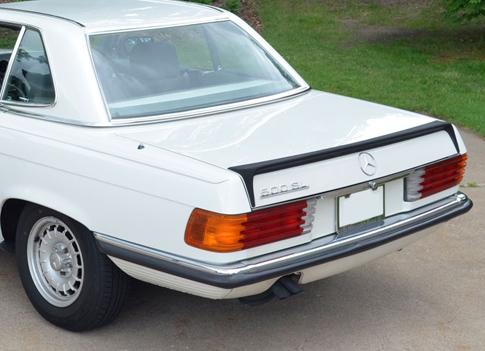 1985-Mercedes-R107-500-SL-Euro-Bumper-rear