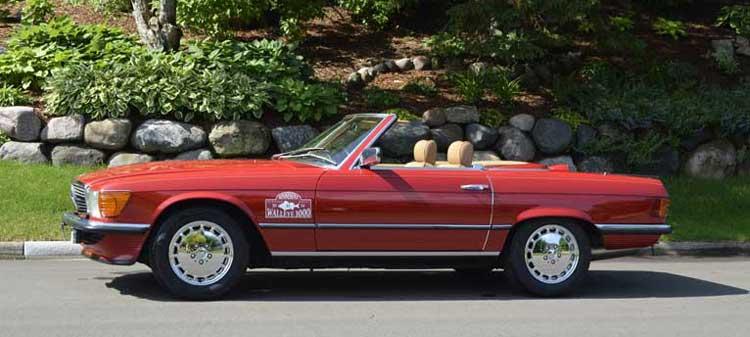 1985-Mercedes-R107-500-SL-Signal-Red-Mercedes-Market