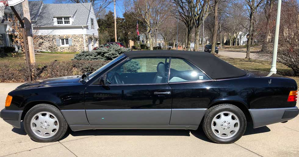 1992-Mercedes-W124-300CE-Cabriolet-For-Sale