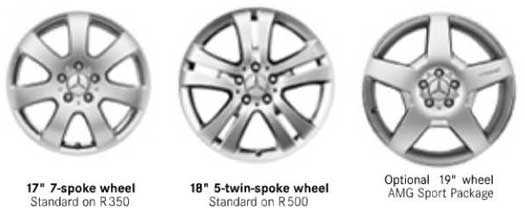 2006-Mercedes-R-Class-Wheel-Options