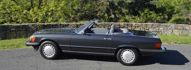 1989 Mercedes R107 560 SL