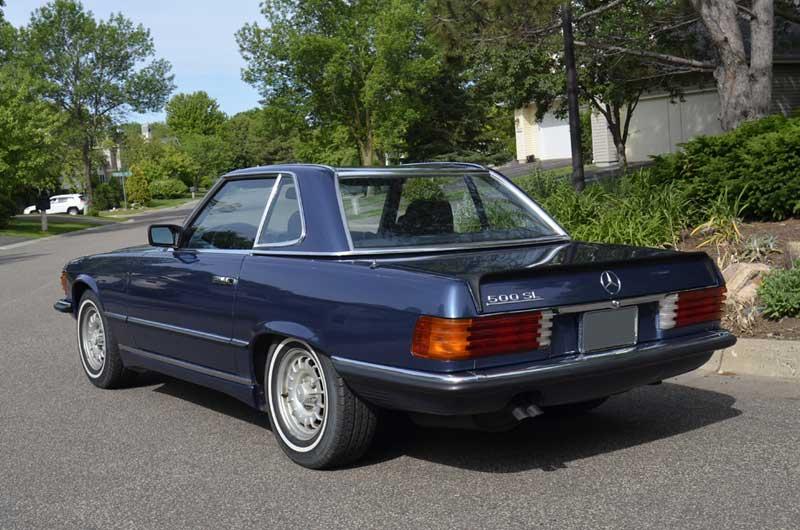 Mercedes-R107-Euro-500SL-Rear-quarter-mercedes-market
