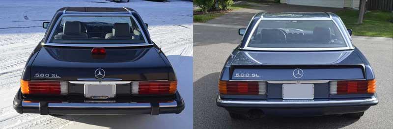 Mercedes-R107-Euro-500SL-and-560SL-Mercedes-Market-rear