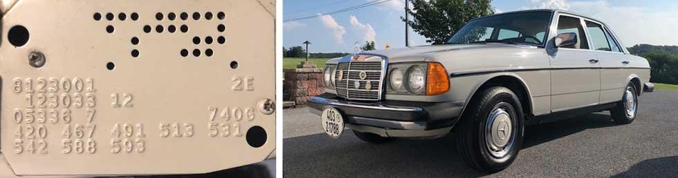 740-Pastel-Grey-Mercedes-Paint-Color-1978-280E-W123