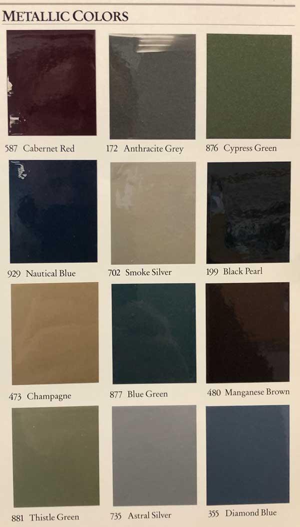 1986-Mercedes-Color-Options-Metallic-Paint