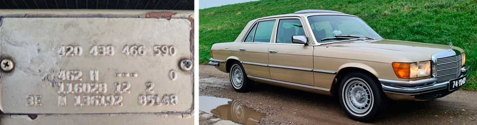 462-Tunis-Beige-Metallic-Mercedes-Paint-Color-1973-350SE