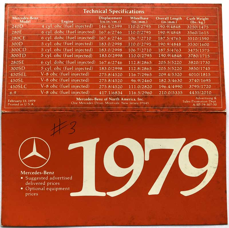 1979-Mercedes-Prices-MSRP-Mercedes-Market
