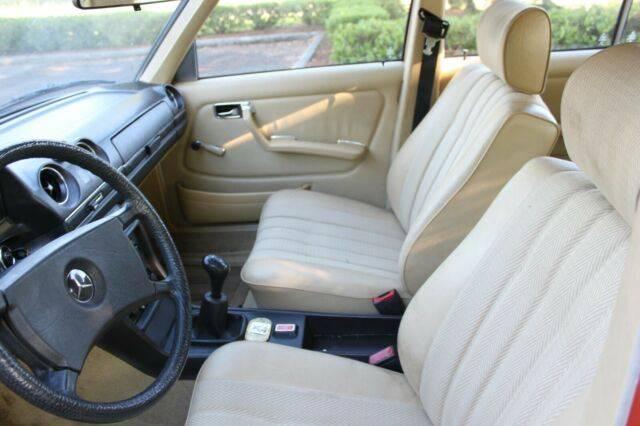 1980-Classic-Mercedes-W123-230E-For-Sale-Parchment-Interior-Mercedes-Market